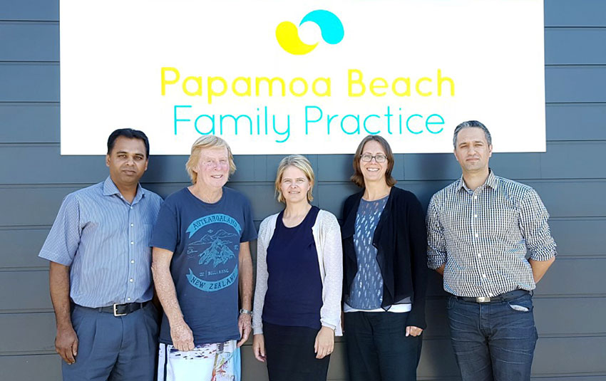 the doctors at Papamoa Beach Family Practice
